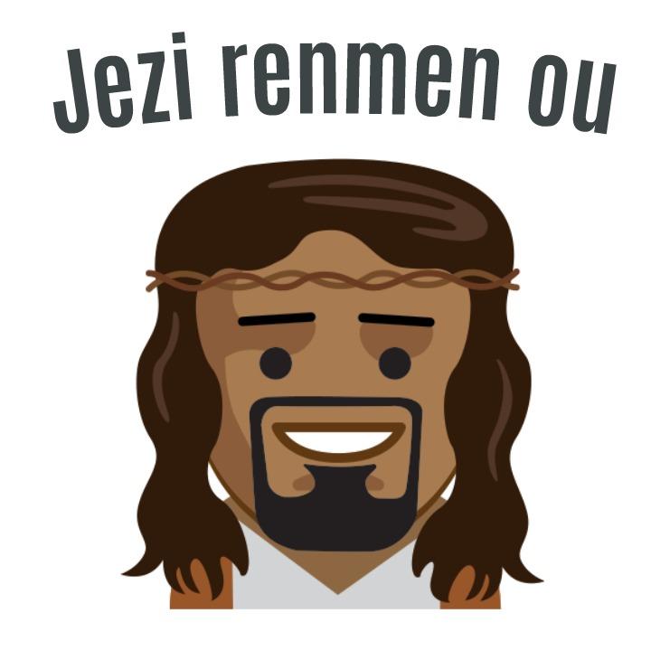 Jesus Loves You (Haitian Creole) Jezi renmen ou