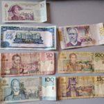 bills of haitian gourde