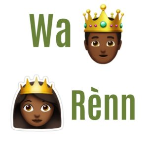 How to say King and Queen in Haitian Creole